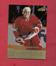 RARE 1996 SAULT STE MARIE JOE THORNTON GOLD ALL SPORT CARD