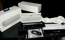 Apple Beats Pill Plus +/ Pro Rebuilt / Portable Wireless Speaker White / Extras