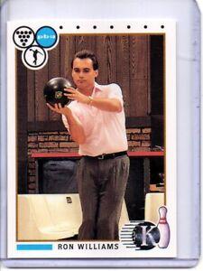 1990 PBA BOWLING CARD #48 RON WILLIAMS