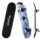 WhiteFang Skateboards for Beginners, Complete Skateboard 31 x 7.88, 7 Layer Kick