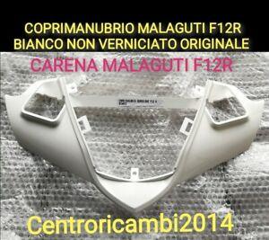 COPRIMANUBRIO MALAGUTI F12R LC AC BIANCO NON VERNICIATO COPRI MANUBRIO PHANTOM