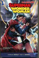 HC Superman / Wonder Woman Volume 1 One 2014 nm/mint 9.8 1st Hardcover DC New 52