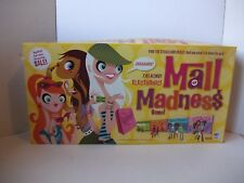 Mall Madness Electronic Talking Shopping Board Game Complete 2004