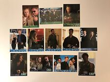 PROMO CARDS: CSI Strictly Ink (Various Releases) 12 DIFFERENT w/ CISM1 ERROR