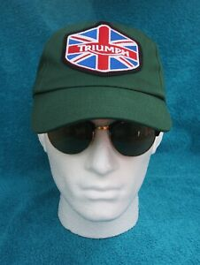 TRIUMPH Logo Baseball Style Cap. FREE RECORDED POSTAGE in the UK.