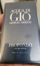 AUTHENTIC Giorgio Armani Acqua Di Gio Profondo Eau De Parfum Spray 40ml 1.35FL