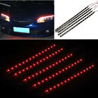 5pcs Vehicle 30cm 15 SMD LED DC 12V Car Strips Light Red Flexible Waterproof