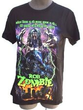 New Mens Rob Zombie Concert Tour Graphic Tee T-Shirt - Small