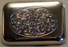 Gürtelschnalle VERZIERT Gürtelbreite 30mm FARBE Silber MASSIV Metall NEU Elegant