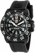Luminox Sea Navy Seal Colormark 3050 Series Black Rubber Band Men Watch XS.3051