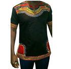 Stylish African Shirt Dashiki Tribal Print Men Succunct Hippie Top Blouse cotton