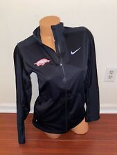 Nike Golf Women's Arkansas Razorback Zip Jacket Coat Storm-Fit Logo Sz Small
