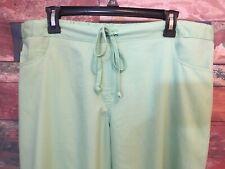 Grey's Anatomy Women's Green Pistachio? Modern Fit 5 Pocket Scrub Pants Size XL*