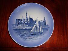 Royal Copenhagen Collectors Plate Kronborg Slot Helsingor