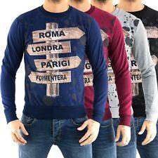 MAGLIA Uomo CARDIGAN slim fit Pullover Maglione sopra Giacca Felpa Camicia N1z1