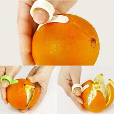 5pcs White Fruit Lemon Orange Opener Peeler Slicer Cutter Kitchen Tools New