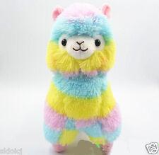 New Rainbow Arpakasso Alpacasso Kawaii Alpaca Llama Plush Toy W015-18Cm