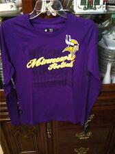 Minnesota Vikings Womens Ladies juniors T-shirt size Medium NWT