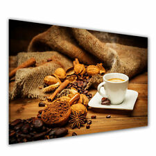 markenlose deko bilder drucke auf leinwand mit kaffee f r die k che g nstig kaufen ebay. Black Bedroom Furniture Sets. Home Design Ideas