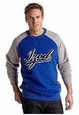 NWT Izod Big & Tall Pull Over Fleece Lined Sweatshirt Gray/Blue 3XL $60.msrp