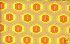 Amy Butler Midwest Modern Honeycomb in Sand Fabric 1yd