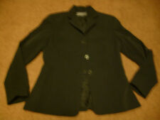 Harold's ladies blazer black size 4