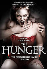 THE HUNGER -THE COMPLETE FIRST SEASON (DVD, 3-DISC SET) R-4, LIKE NEW, FREE POST