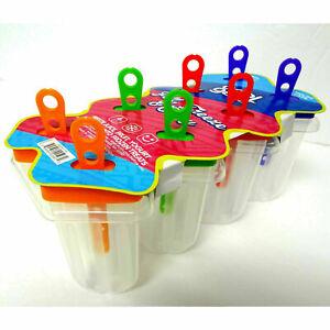 Ice Cream Pop-Mold Popsicle Maker Mould Frozen Pan Tray Kitchen BPA Free