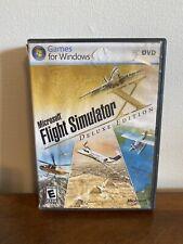 Microsoft Flight Simulator X Deluxe Edition (PC 2006) DVD W/ Manual CIB