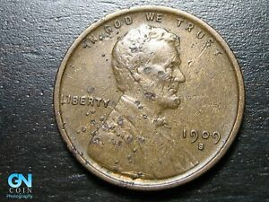 1909 S Lincoln Cent Wheat Penny  --  MAKE US AN OFFER!  #B9845