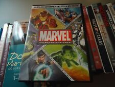 Marvel Animated Features (8-Disc, DVD, 2012) Avengers Hulk Thor Wolverine