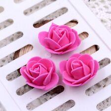 Mini Foam 3cm Roses- Wedding Craft Flower Party Decoration Favour- 10 Colours
