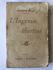 L'INGENUE LIBERTINE COLETTE WILLY