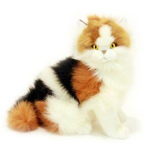 Calico Cat Plush Stuffed Soft Toy 34cm Alfio by Bocchetta