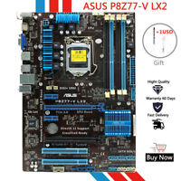 for ASUS P8Z77-V LX2 Motherboard Intel Z77 LGA 1155 DDR3 Fully Tested