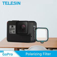 TELESIN For GoPro Hero 7/6/5 CPL Polarizing Filter Polarizer Lens Cap Photograph