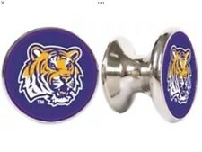 LSU TIGERS NCAA DRAWER PULLS / CABINET KNOBS