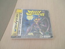 >> WILLY WOMBAT HUDSON ACTION SEGA SATURN JAPAN IMPORT BRAND NEW SEALED! <<