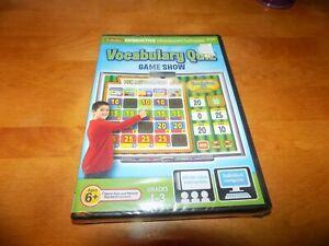 VOCABULARY QUIZ GAME SHOW Lakshore Interactive Whiteboard Grade 1-3 PC/MAC NEW