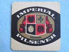 Vintage Beer Coaster: HOFBRAU Brewing Imperial Pilsener, Allentown, PENNSYLVANIA