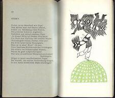CHRISTINE KOLLER Gedichte illustriert von Henning Beck signiert Eremiten 1967