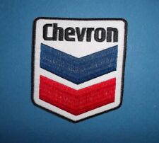 CHEVRON OIL  MOTOR SPORT RACING SEW OR IRON ON PATCH