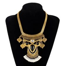NEW 2015 ZARA GOLD NOBLE CLEAR CRYSTAL BIB STATEMENT CHAIN Necklace Bloggers