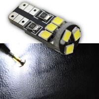 10pcs 2835 9 SMD LED White W5W T10 501 Car Interior Light Side Wedge Parker Bulb