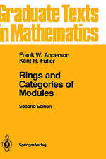 NEW Rings and Categories of Modules (Graduate Texts in Mathematics)