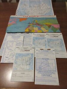 Northwest Airlines Jeppesen Flight Charts