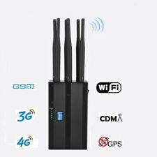GSM / CDMA / GPS / 3G / 4G / WIFI VLan / BLOCKER JAMMER ( 6 Antenne  )