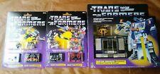 Transformers Soundwave & Mini Cassettes Reissue G1 Lot Wal-Mart Exclusives!