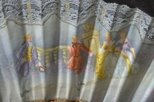 Vintage Hand Painted Spanish Fan from Granada Vv167