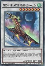 YU-GI-OH: MECHA PHANTOM BEAST CONCORUDA - SUPER RARE - MP14-EN093 - 1st EDITION